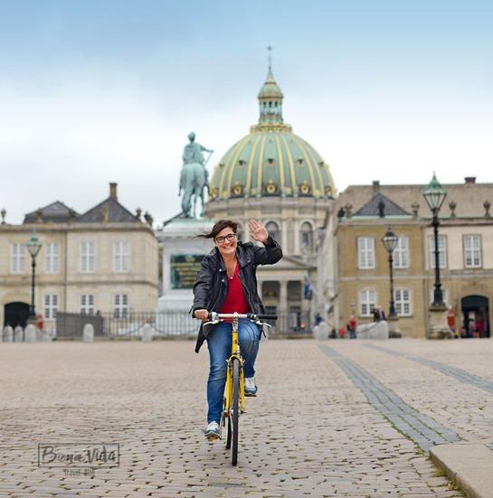 Ens encanta recórrer la ciutat en bici!
