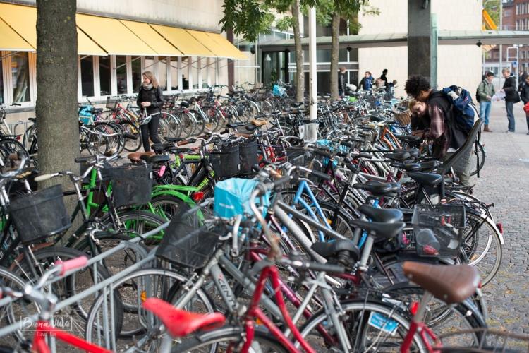 Trobarem grans aparcaments per deixar la bici