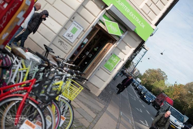 Si ens ve de gust descobrir Copenhagen en bicicleta, res millor que llogar-ne una.