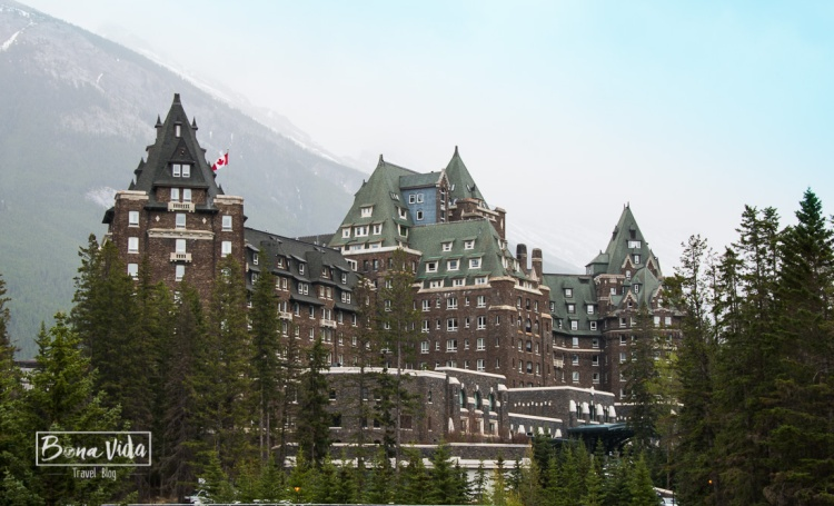 El famós Banff Springs Hotel