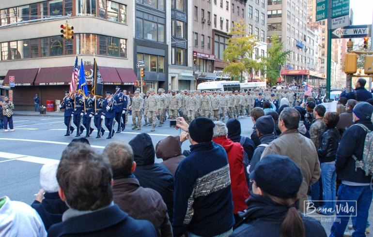 Desfilant per la 5th Avenue