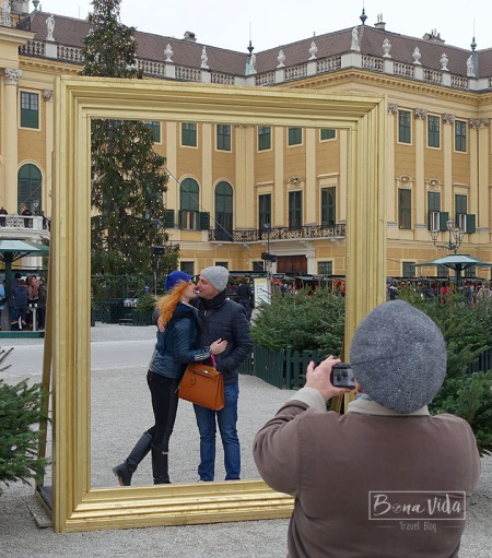Viena Schonbrunn ChristmasMarket peto