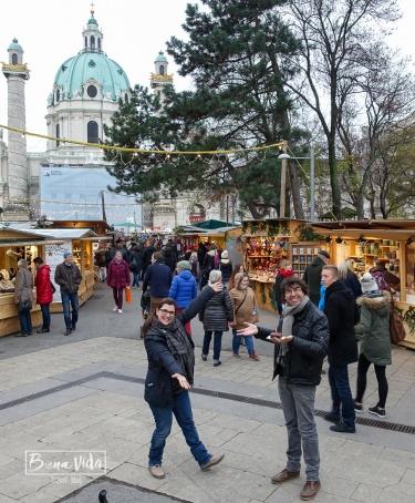Mercat de Nadal a Viena