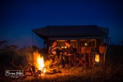 Passant la nit al Serengeti