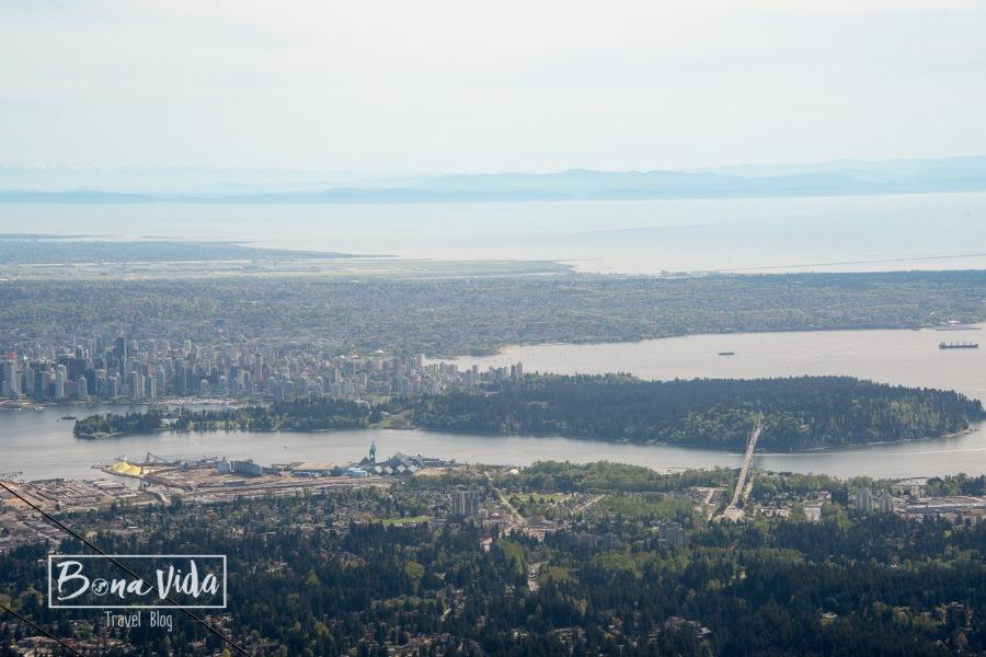 Vistes de bona part de Vancouver