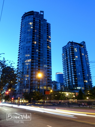 Downtown a la nit