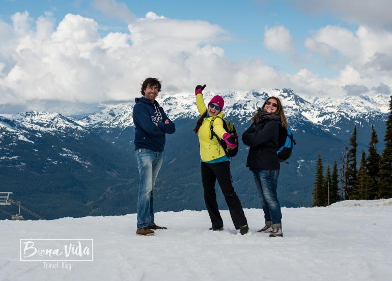 Som a l'abril, i aquí encara podem esquiar