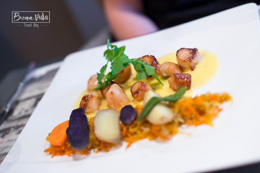 Restaurant L'Abri du Port. Erquy, Bretanya