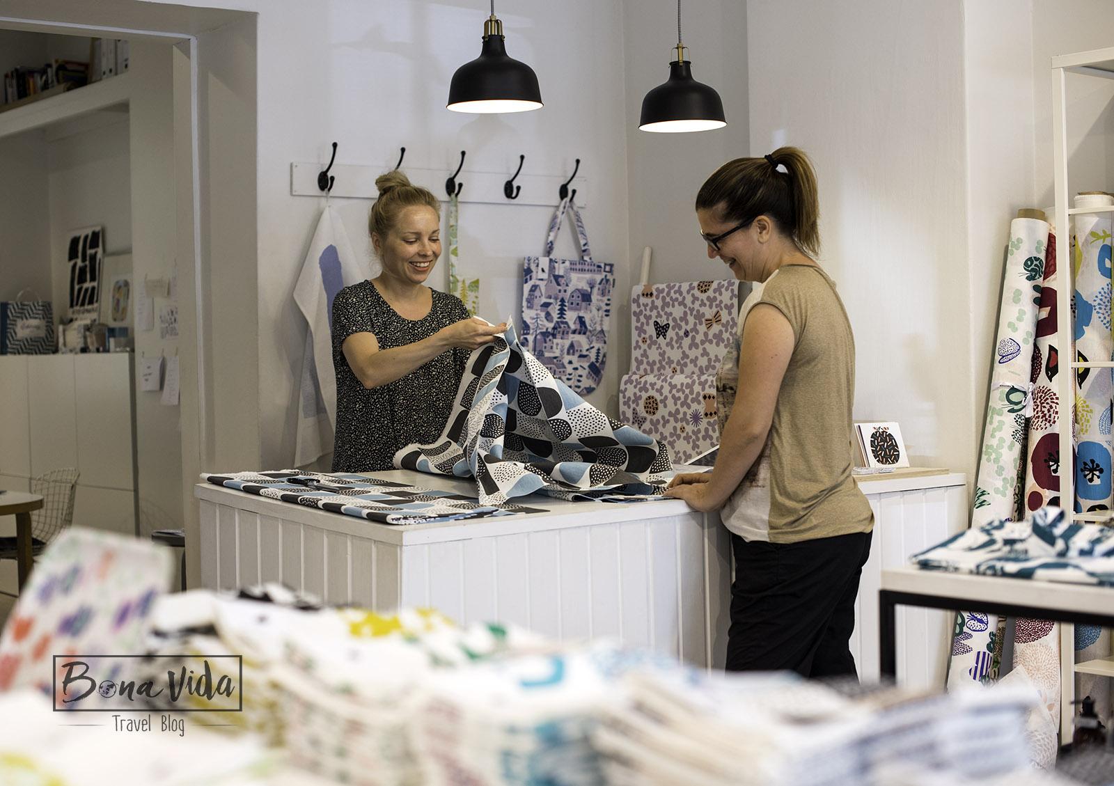finlandia helsinki cris kauniste shop