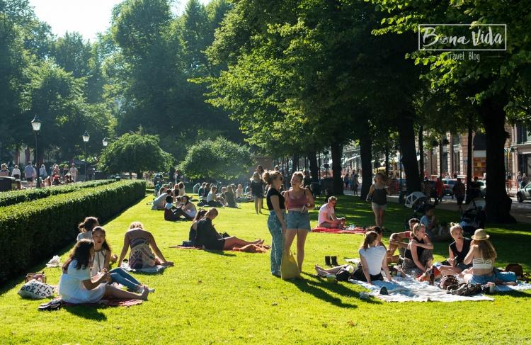 finlandia helsinki esplanade park sol