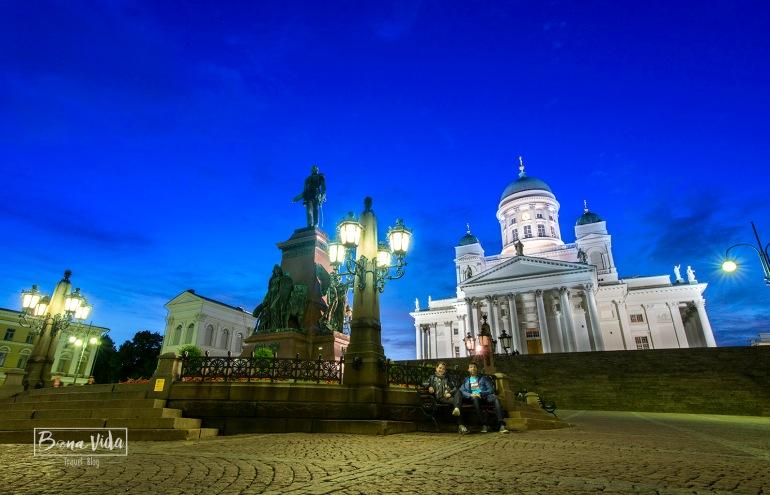 finlandia helsinki nosaltres catedral nit