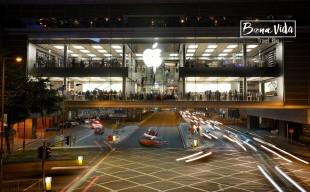 Una de les botigues Apple
