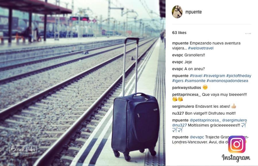 instagram viatger