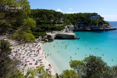 Cala Mitjana, Menorca