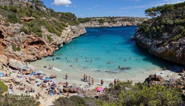 Cala des Moro, Santanyí. Mallorca
