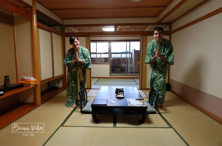 Fem el ruc a l'habitació d'estil japonés a Kawaguchico