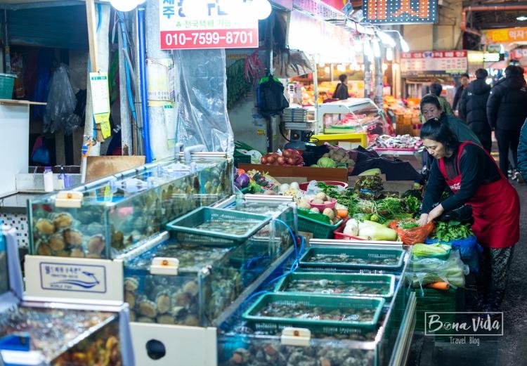 Dong-Mun Market, Jeju, Corea del Sud