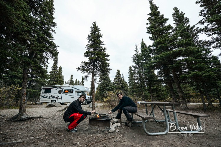 alaska caravana camping