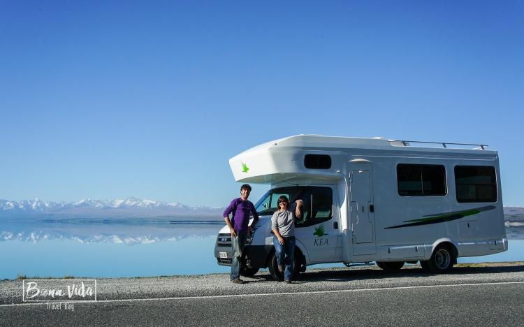 Mt.Cook reflexat al llac Pukaki