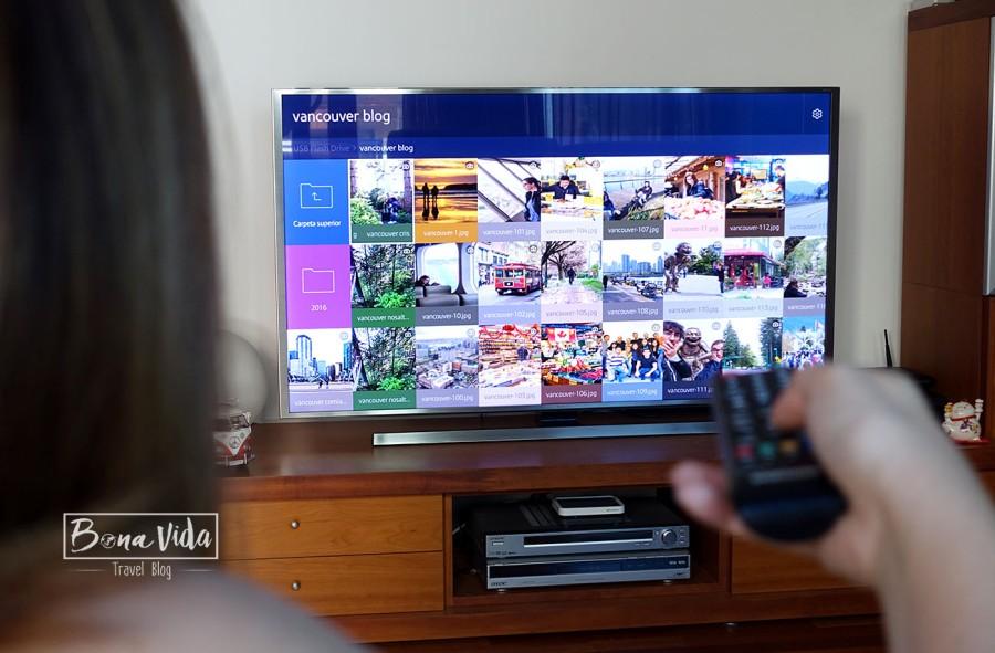fotos vacances tv