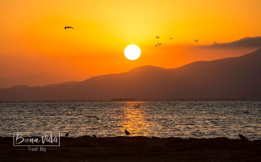 delta ebre sunset platja trabucador