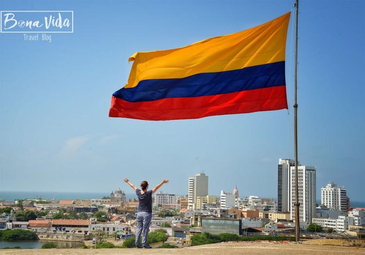 colombia cartagena bandera cris