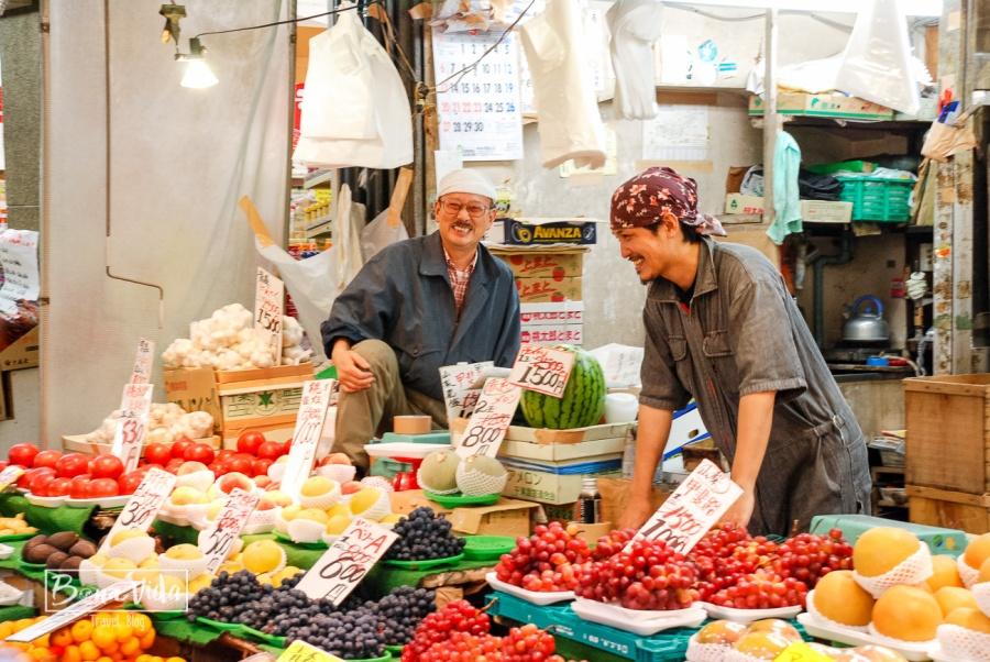 Recorregut pel mercat d'Ameyoko, al barri de Ueno, Tokyo.