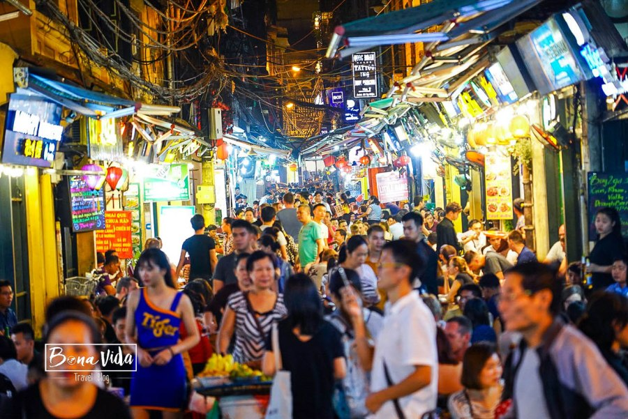 vietnam hanoi caos
