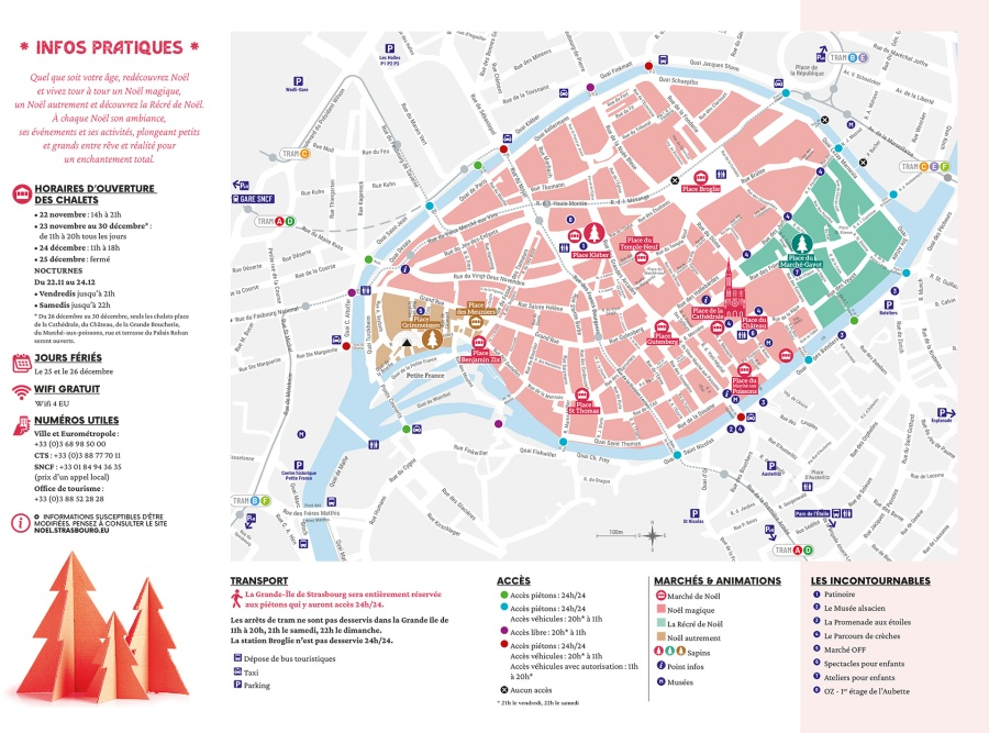 mapa mercats nadal estrasburg