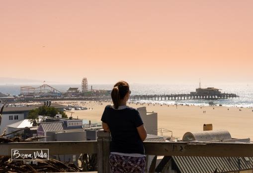 Platja de Santa Monica a Los Angeles
